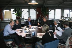 Panel meeting in TF flat